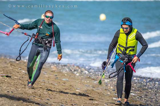 Private kiteboarding/ kitesurf lessons in Estepona-Costa del Sol