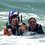 Complete beginners course of Kiteboarding