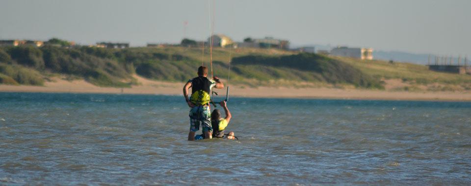 Kiteboarding and kitesurf school in in Malaga