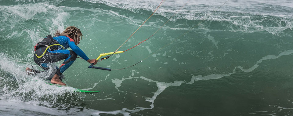 Kiteboarding and kitesurf school in in Malaga