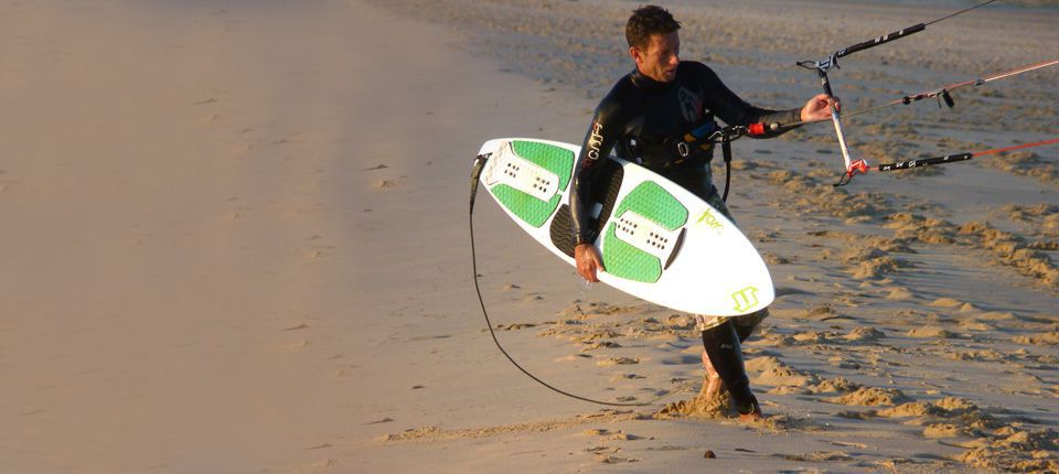 Kiteboarding and kitesurf school in La Costa del Sol