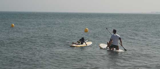 Curso iniciación de SUP/Paddle surf en Estepona, Marbella, Sotogrande, Algeciras